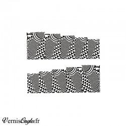 8 Pinceaux pour le Nail art et 1 dotting tool pointu 2