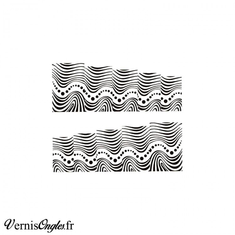 Water decals vagues