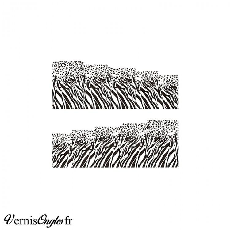 Water decals motif animal