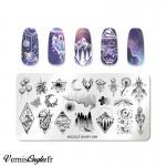 Boite de studs de couleurs pour ongles