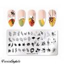 rangement plateau 50 pots vides pour nail art