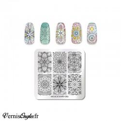 Plaque de stamping Nicole Diary 093
