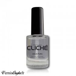 Vernis à ongles transparent Agua Pura de la marque Cliché