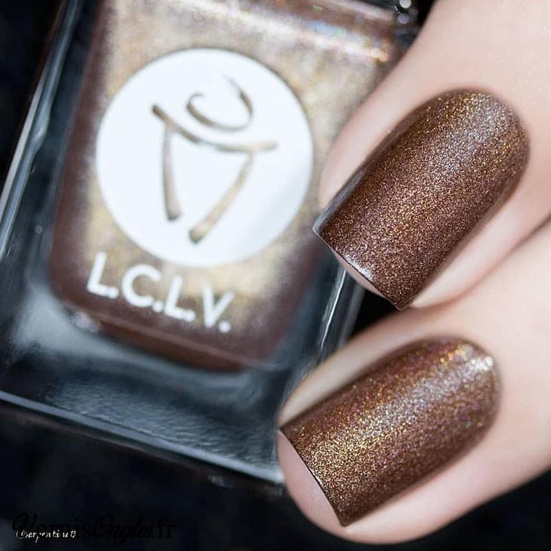Vernis à ongles Chocolatine de L.C.L.V.