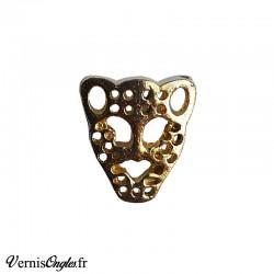 Bijou d'ongle tête de léopard