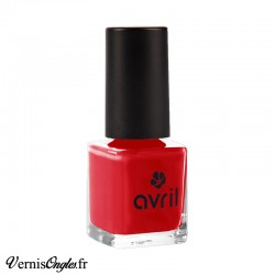 Vernis Avril rouge passion
