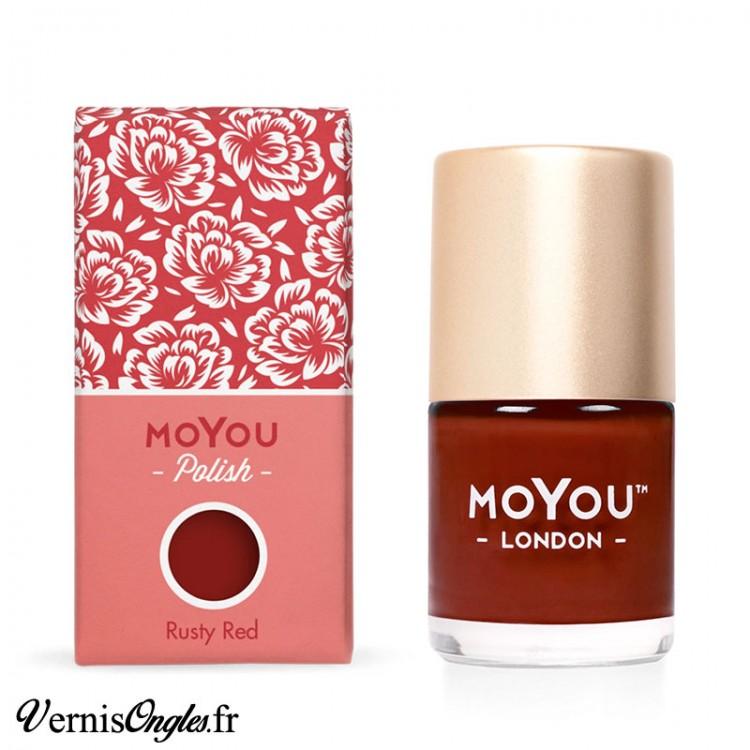 Rusty Red de Moyou London