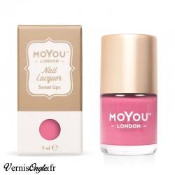 Vernis Sweet lips de Moyou london