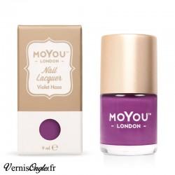 Vernis Violet haze de Moyou london