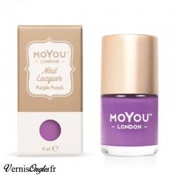 Vernis Purple punch de Moyou london