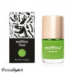 Vernis Eat your greens de Moyou London