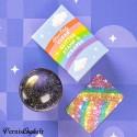 Bijoux 3d Araignée Argent et perle