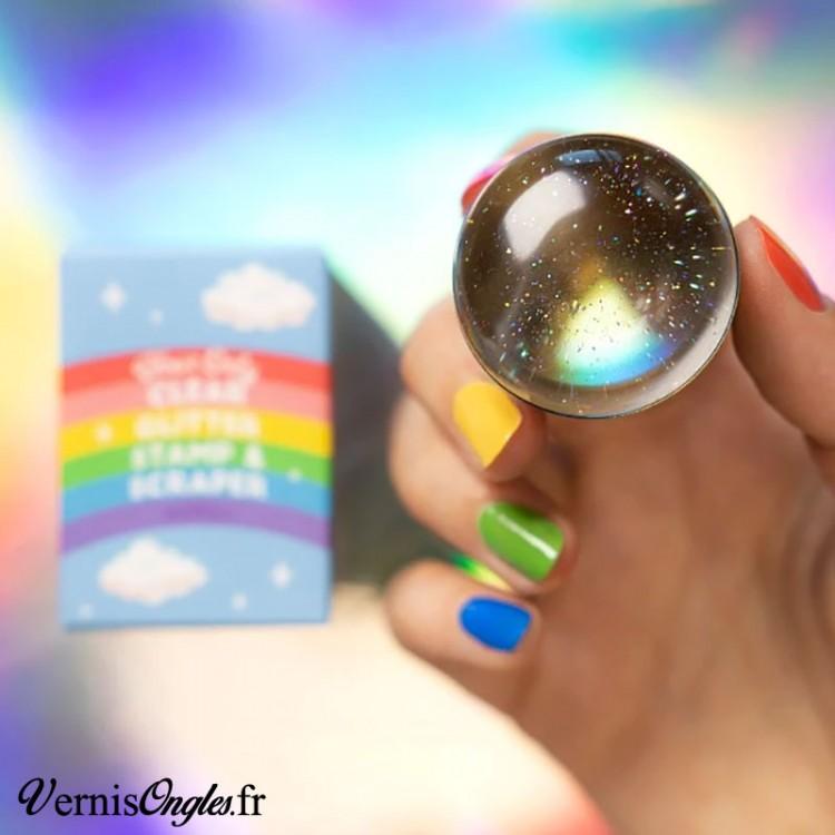 Bijoux 3d Couronne perle et cristal Argent