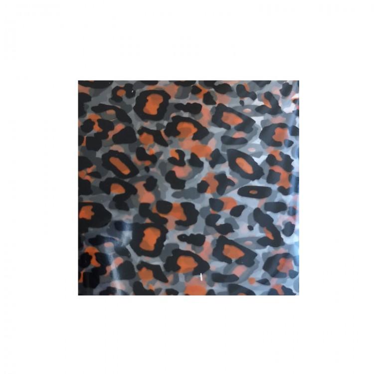 Foil léopard pour ongles