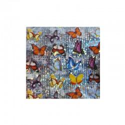 Foil papillons pour ongles