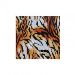 Foil tigre pour ongles