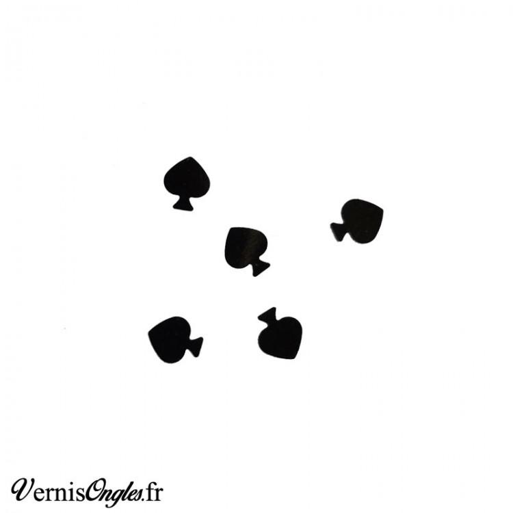 Paillettes piques noirs