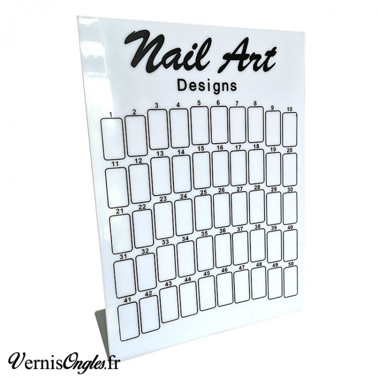 Tableau nail art designs