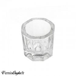Godet en verre pour la résine