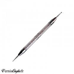 Dotting pen manche strass