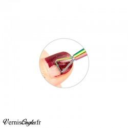 Outil triangle pour retirer le semi permanent