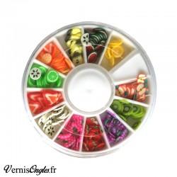 Fimo fruits pour le nail art