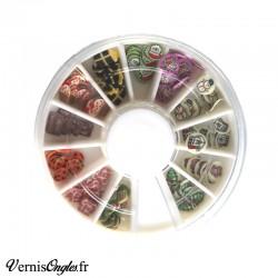 Boite de microbilles caviar 5 pour ongles