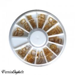 Boite de microbilles caviar 6 pour ongles