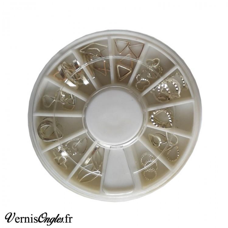 Boite de microbilles caviar 7 pour ongles