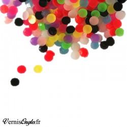 Strass phosphorescents multicolores pour le nail art