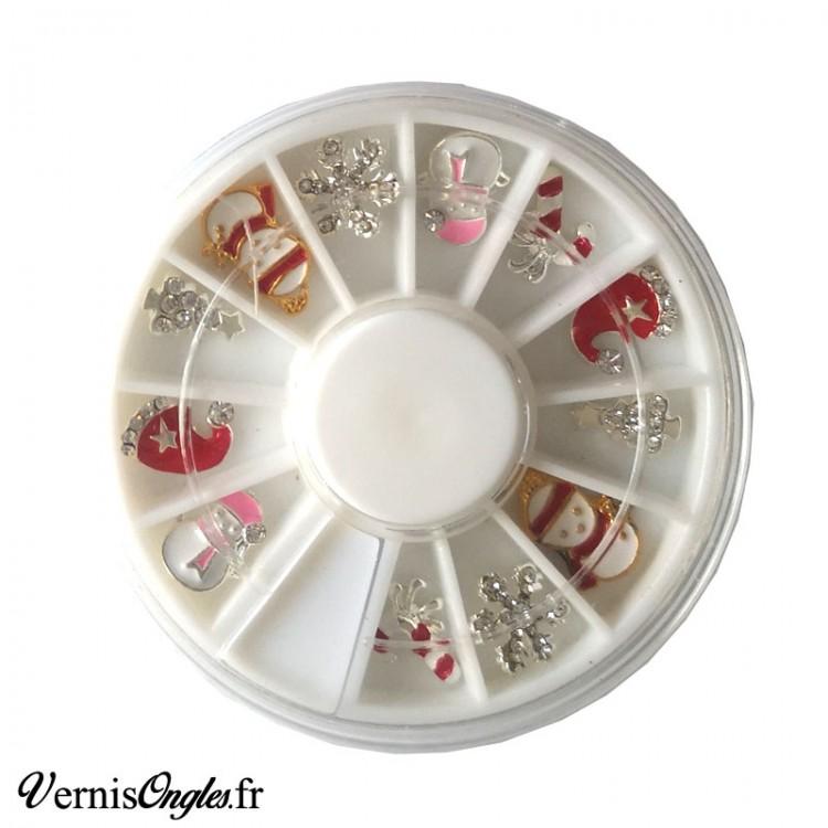 Boite de microbilles caviar 10 pour ongles