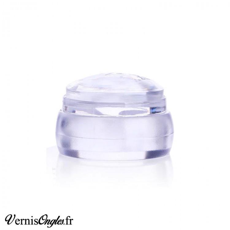 Tampon de stamping large transparent