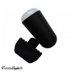 Tampon de stamping large noir