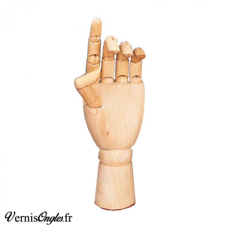 Nuancier rectangulaire blanc crème 48 ongles