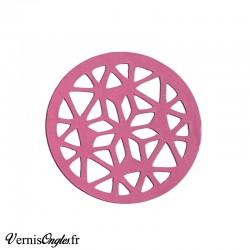 Pochoirs en vinyle motif géométrique pour le nail art