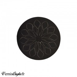 Pochoirs motif grande fleur pour le nail art