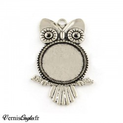 Support cabochon hibou