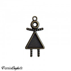Support pour cabochon triangle