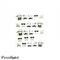 Water Decals moustaches
