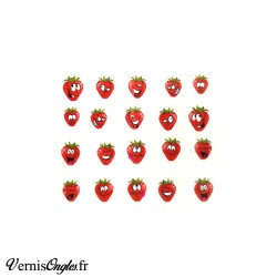 Water Decals fraises