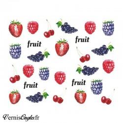 Water Decals fruits