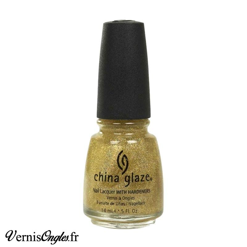 Vernis à ongles Golden Enchantment de China Glaze.