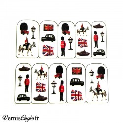 Water Decals anglais