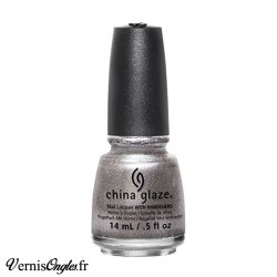 Vernis à ongles Check Out The Silver Fox de China Glaze.
