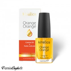 Huile à cuticules à l'orange de la marque Kinetics.