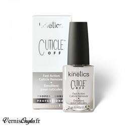 Émollient pour cuticules Cuticle Off de la marque Kinetics.