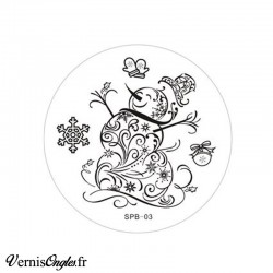Plaque de stamping SPB-03