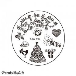 Plaque de stamping YZW-Y03