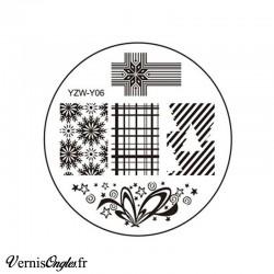 Plaque de stamping YZW-Y06