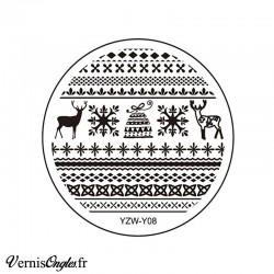 Plaque de stamping YZW-Y08